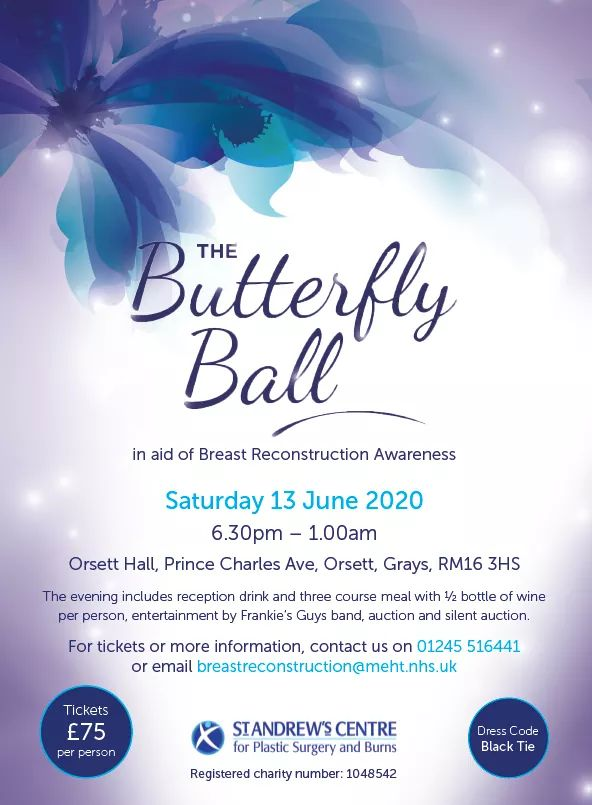 2020 Butterfly ball flyer